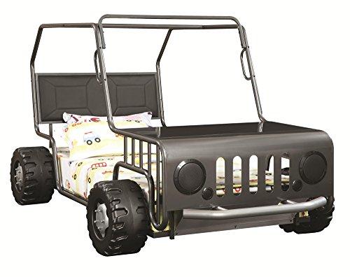 Coaster Casey Jeep Twin Gunmetal