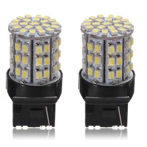 18 opinioni per TOOGOO (R) 2X T20 7443 3020 W21 / 5W auto bianco 64 SMD LED fanale di arresto di