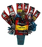All Jacked Up Beef Jerky and 5-Hour Energy Shot | Gifts for Men Combo Set | Sorry No Flowers | Birthday | Anniversary