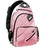 Ful Brick House Laptop Sling Backpack Backpack, Pink