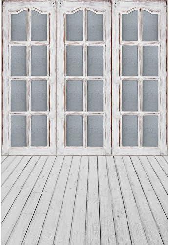 5 x 7ft vinilo gris puerta corredera ventana para suelos de madera telón de fondo fondo de estudio de fotografía: Amazon.es: Electrónica