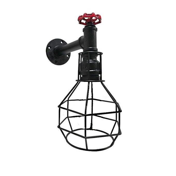 Lámpara de pared vintage, iluminación industrial Lámpara de ...
