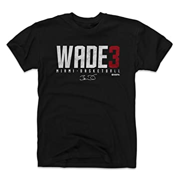 online retailer 55e6e bde06 Amazon.com : 500 LEVEL Dwyane Wade Shirt - Miami Basketball ...