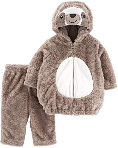Halloween Costumes For Newborn Girls (Carter's Baby Halloween Costumes, Sloth, 3-6)