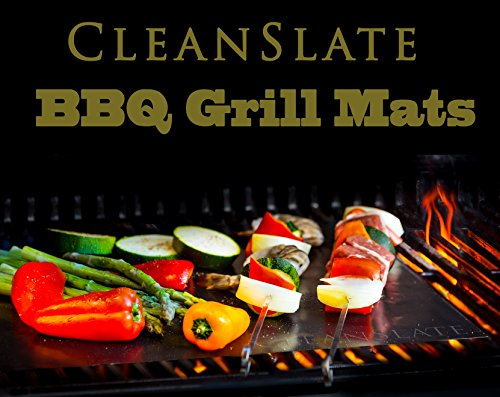 Cleanslate Bbq Non Stick Grill Mats  Set Of 2