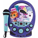 Sakar International Littlest Pet Shop Flash Easy-to-use Durable Karaoke for Kids with Colorful Flashing Lights