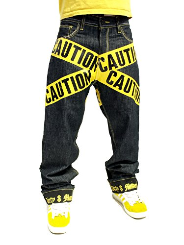 Dirty Caution Jeans Giallo Denim Money Raw r6qFfrv