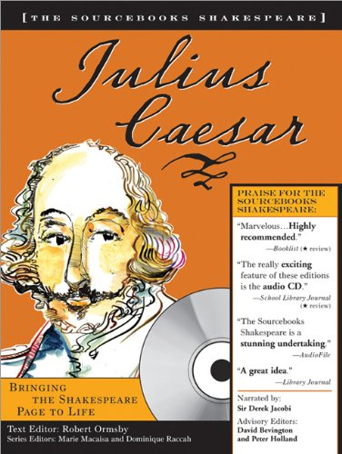 Julius Caesar (Sourcebooks Shakespeare; Book & CD)