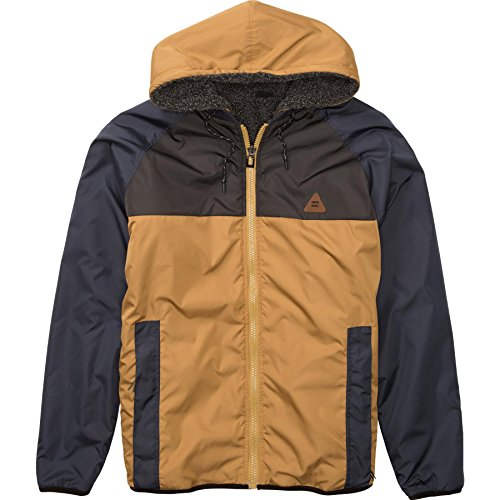 Billabong Mens Eureka Jacket X-Large Camel by Billabong