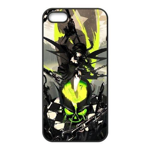 Black Rock Shooter CD71DK4 coque iPhone 5 5s cas de téléphone portable coque K4DT9V7IU