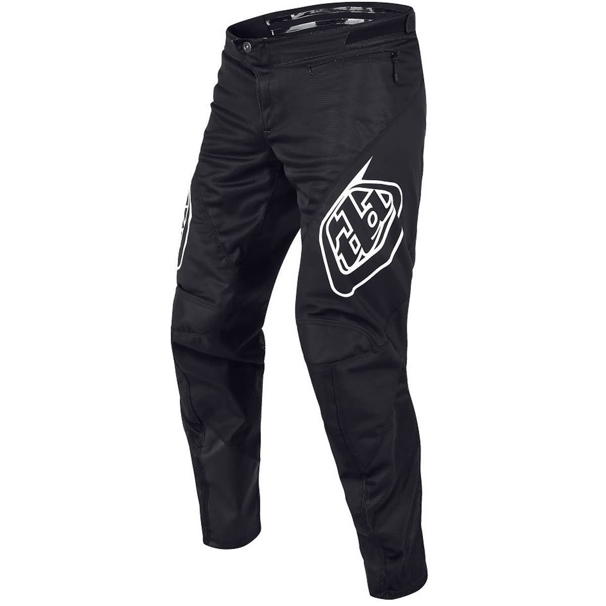 Troy Lee Designs 2018 Sprint Solid Boys Bike BMX Pants - 28,Black