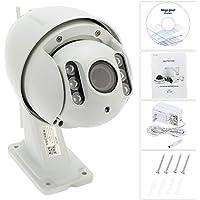 KKmoon Security CCTV Camera H.264 HD 1080P 2.8-12mm Auto-focus PTZ Wireless WiFi IP Camera Home Surveillance