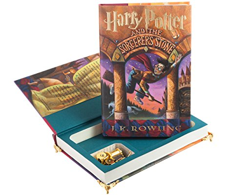 Music Box Hollow Book - Harry Potter and the Sorcerer's Stone by J.K. Rowling by BookRooks