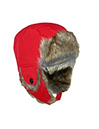 Jeanne Simmons Toddler Trapper Hat with Faux Fur and Chin Strap
