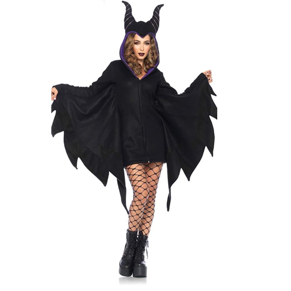 GAOJUAN 2018 Nuovo Halloween Costume Cosplay Costume Cosplay per Adulti Sleeping Demon Horns Costume di Scena Adatto per Carnevali Feste A Tema Halloween Capodanno Festival,M