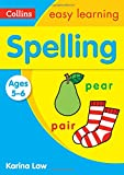 Spelling Ages 5-6: New Edition (Collins Easy Learning KS1)