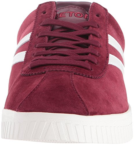 Tretorn Mens Camden3 Fashion Sneaker Wine/Wine/White jwaOB