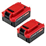 6.0Ah Replace Porter Cable 20V Lithium Battery for Porter Cable PCC685L PCC680L Cordless Tool Battery 2-Packs