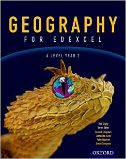 Book Geography for Edexcel A Level Year 2 Student Book by Bob Digby (2017-04-01)