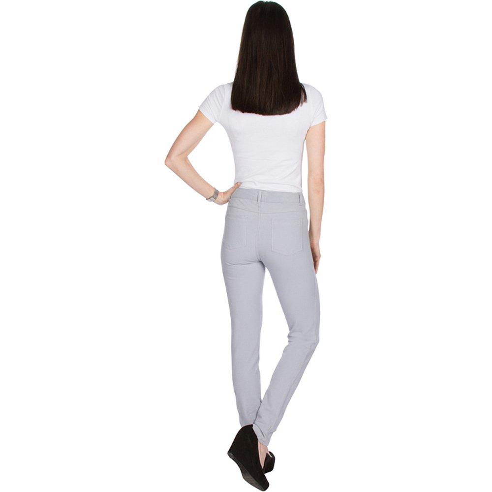 f270bf586eb3f Vault Sportswear Womens Jeggings Basic Five Pocket Denim Look Twill Pant  Leggings at Amazon Women's Clothing store: