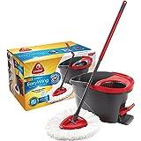 O-Cedar Microfiber EasyWring Spin Mop & Bucket