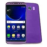 Celular Samsung Vak S8 Edge Plus Android 7 Gorilla 6' Curva Sensor Huella Vista 8GB Camara 8mp Flash Frontal Face Smile Shutter -Morado