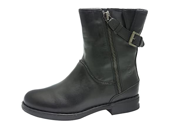 Buffalo London 111 8510 Silk Leather, Stivali Bassi con Imbottitura Leggera Donna