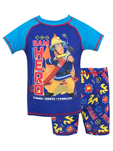 Fireman Sam Boys' Sam Two Piece Swim Set