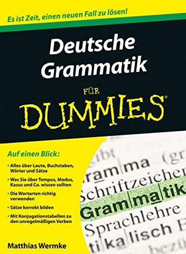Deutsche Grammatik Für Dummies Pdf Download Matthias Wermke