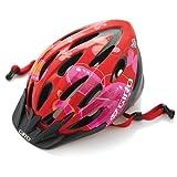 : Giro Flume Youth Bike Helmet (Red Butterflies, Youth)