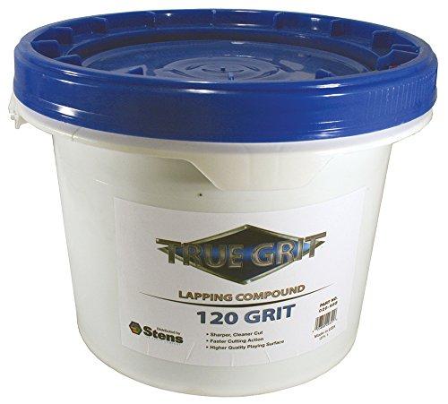 - True Grit Lapping Compound, 120 Grit, ea, 1