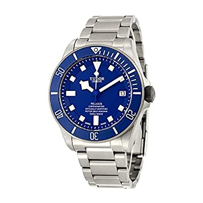 Tudor Pelagos Blue Dial Automatic Mens Watch 25600TB-BLRS