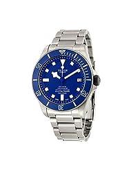 Tudor Pelagos Blue Dial Automatic Titanium Mens Watch 25600TB