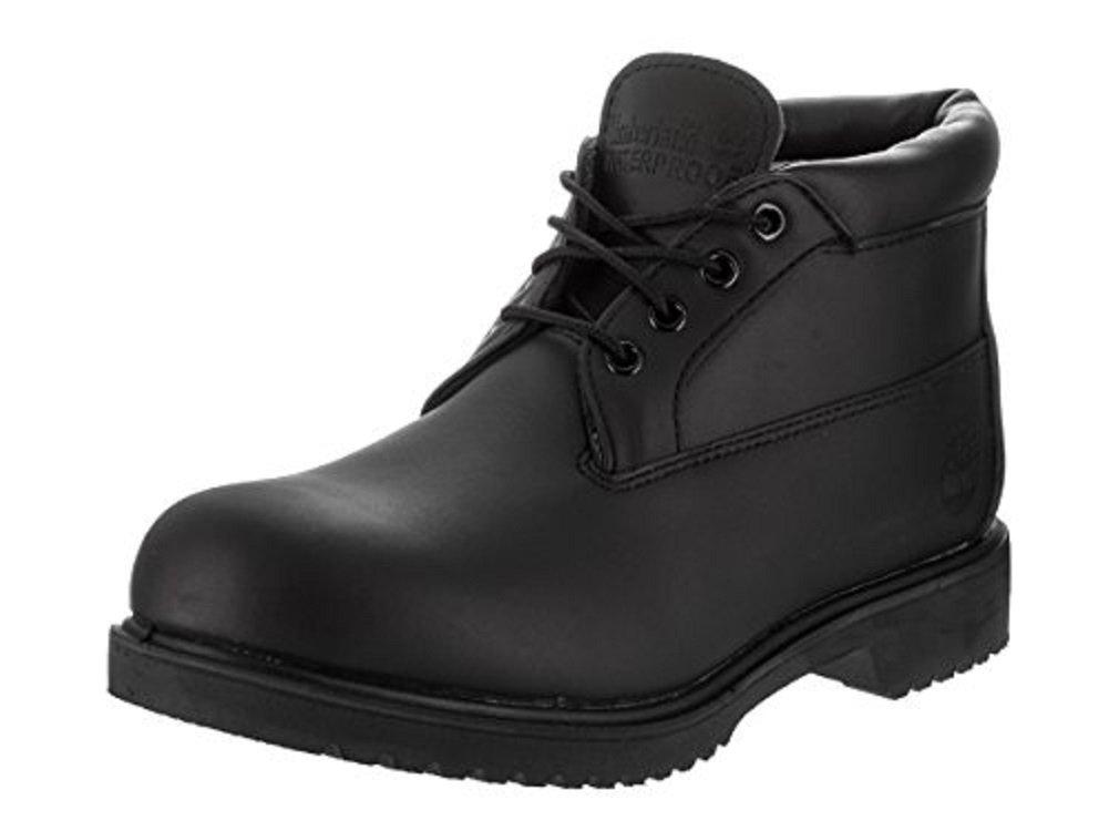 [ティンバーランド] Timberland Premium WP Chukka 32085 B0063MZUOK 11.5 D(M) US|ブラック ブラック 11.5 D(M) US