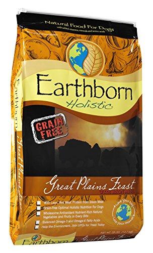 Earthborn Holistic Great Plains Feast Grain-Free Dry Dog Food, 28-Pound Bag