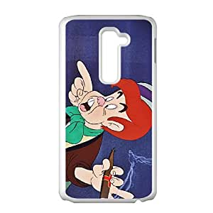LG G2 Cell Phone Case White Disney Pinocchio Character Lampwick Ruchw