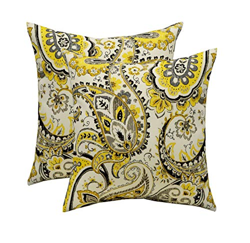 RSH Décor Set of 2 Indoor/Outdoor Square Throw Pillows (17