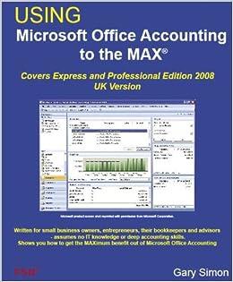 microsoft accounting expres