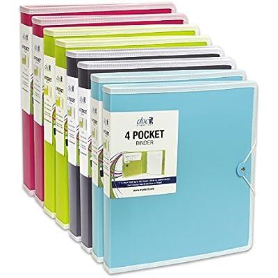 docit-4-pocket-binder-multi-pocket