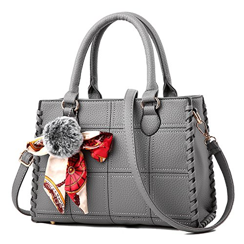 30 Ome Bag 13 Gray Qiumei amp; Claret Handbag Mom 21cm satchel HpXqH