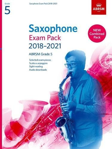 Saxophone Exam Pack 2018-2021, ABRSM Grade 5: Selected from the 2018-2021 syllabus. 2 Score & Part, Audio Downloads, Scales & Sight-Reading (ABRSM Exam Pieces) PDF