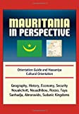 Mauritania in Perspective - Orientation Guide and Hassaniya Cultural Orientation: Geography, History, Economy, Security, Nouakchott, Nouadhibou, Rosso, Taya, Sanhadja, Almoravids, Sudanic Kingdoms