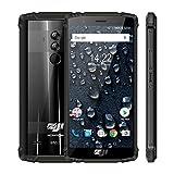 Original ZOJI Z9 6GB RAM 64GB ROM IP68 5500mAh Waterproof Smartphone Heart Rate Android 8.1 5.7inch Face ID Mobile Phone Fingerprint FDD-LTE 4G Helio P23 MTK6763 Octa-Core 21MP Camera Cell Phone-Green
