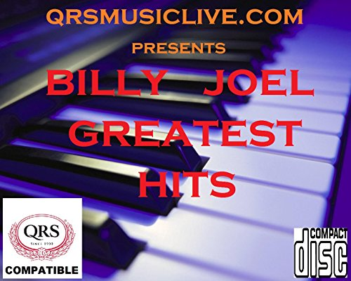 Qrs Player - BILLY JOEL 3 DISC SET - QRS PIANOMATION Compatible Player Piano CD