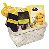 English Tea & Scones and Lemon Citrus Tea Cookies Gift Basket