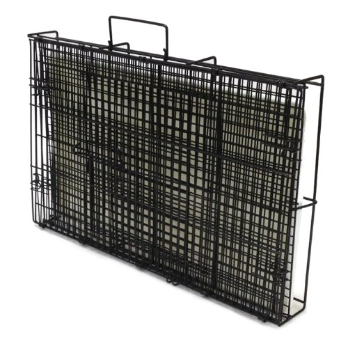 Dog crate 20x13x15 small pet kennel cage folding portable for Portable travel dog crate