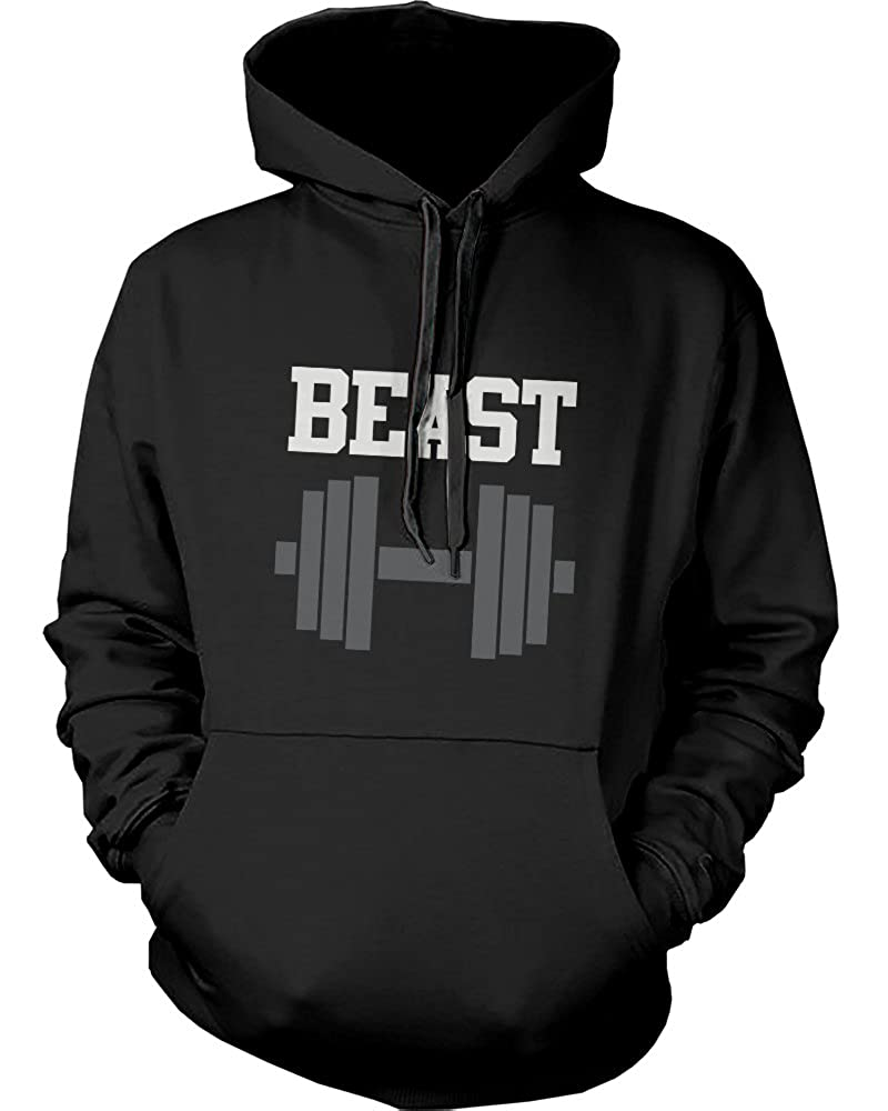 Amazon.com: 365 In Love His and Her Matching Hooded Sweatshirts Beauty and Beast Couples Hoodies: Clothing