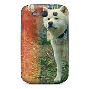 New Arrival Case Cover With OmhkZ4213sdgYi Design For Galaxy S3- Animals Dogs Akita Spitz