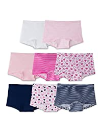 Fruit of the Loom Big Girl's 8-Pack Girls Short