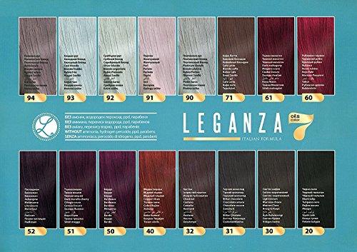 Leganza Coloring Conditioner Color 94 Ash Blonde With 7
